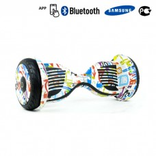 Гироскутер Smart Balance Premium 10,5 APP - Граффити белый