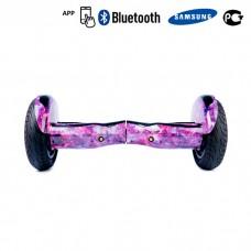 Гироскутер Smart Balance Premium 10,5 APP - Розовый Космос