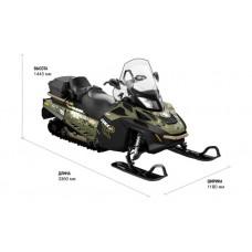 Снегоход BRP Lynx 69 Ranger ARMY LTD 800R E-TEC